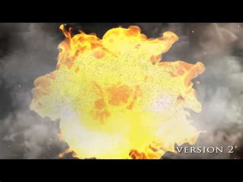 After Effects Template Explosion Intro Youtube After Effects Explosion Template Free