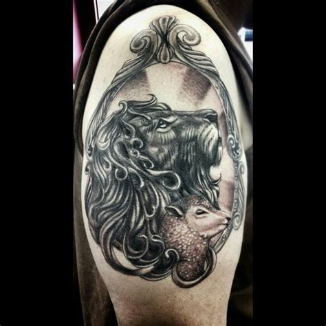 lion and lamb tattoo best 30 and design ideas 2018