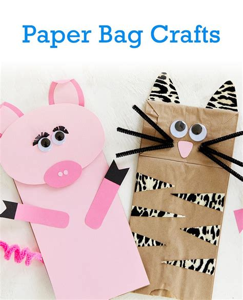 Brown Paper Bag Craft - 42 best kid friendly craft ideas images on