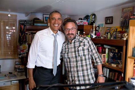 marc maron house marc maron s president obama podcast the wtf host takes us behind the vanity fair