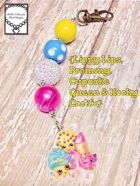 Build A Bracelet Bead Designs   Shopkins Whole Gang Purse Bling~Backpack/Keyring Clip   Online