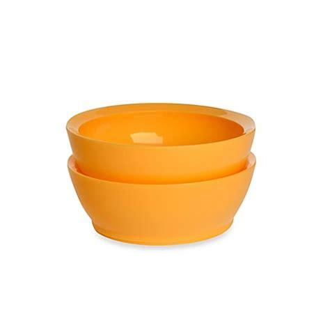 Sale Masker Bowl 2 In 1 Orange buy calibowl 174 28 ounce bowls in orange set of 2 from bed