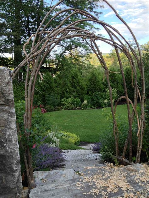Twig Trellis How To Build A Rustic Trellis Ecker Ogden