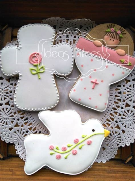 centro de mesa para bautizo con galleta decorada galleta decorada communion 17 best images about primera comunion on mesas baptism cookies and holy