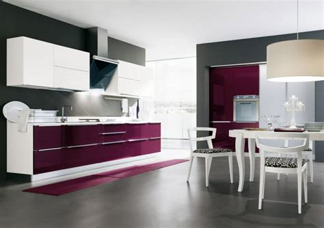 cucina color melanzana la cucina moderna city di gicinque elegante e sofisticata
