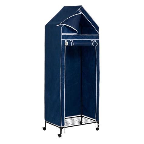 Portable Wardrobe Closet On Wheels - honey can do 29 52 in x 74 8 in portable wardrobe