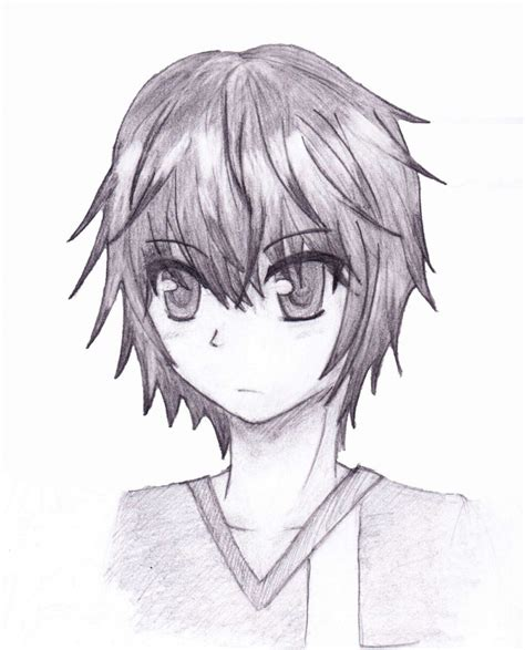 Sketches H by Sketch Photo Of Anime Anime Boy Sketchhylla Chan On