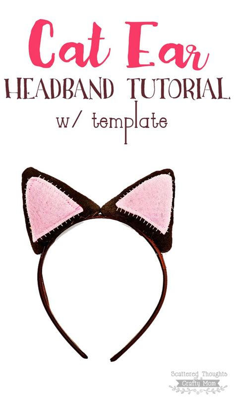 How To Make Cat Ears Headband Paper - 1000 images about costumes for on