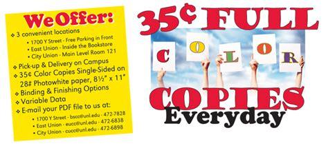 color service copy services print copy mail distribution services