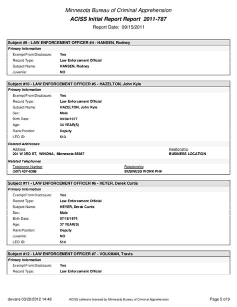 Bca Criminal Record Bca Documents