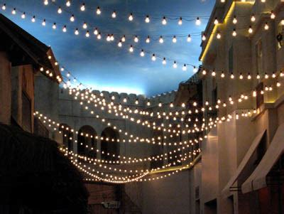 Patio Light Strings by Wholesale Lights Lights Wedding Lights