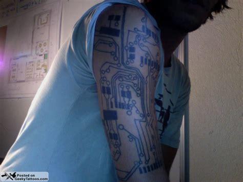 circuitry tattoo matt s circuitry geeky tattoos