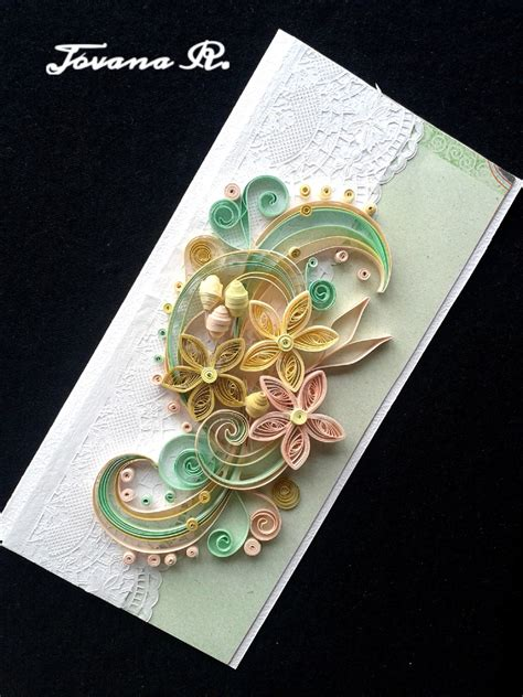 Handmade Unique Cards - unique handmade greeting card wedding greeting card