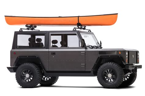 bollinger b1 bollinger s b1 is an all electric sport utility truck