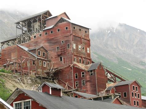 abandoned places in america kennecott mine abandoned alaska usa strange abandoned