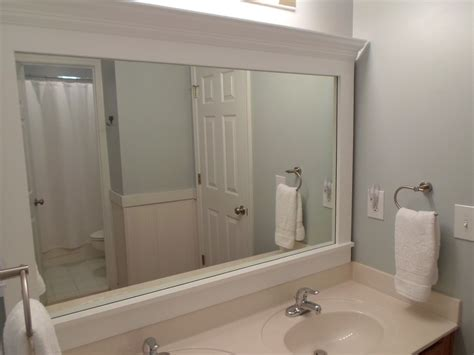 bathroom mirror moulding best of frame a bathroom mirror http keralahotels us