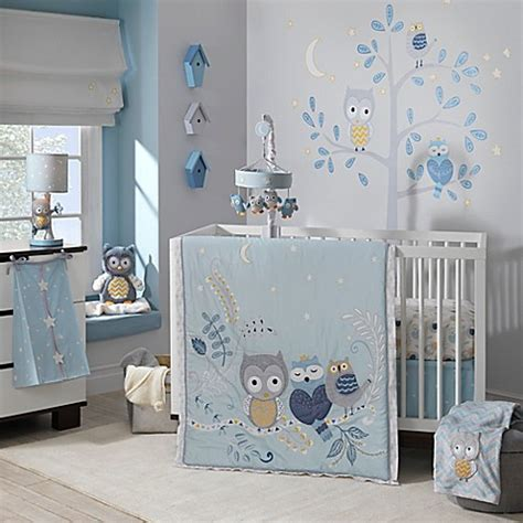 owl nursery bedding sets lambs 174 owl crib bedding collection buybuy baby