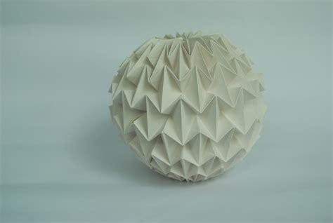 How To Make An Origami Sphere - origami magic