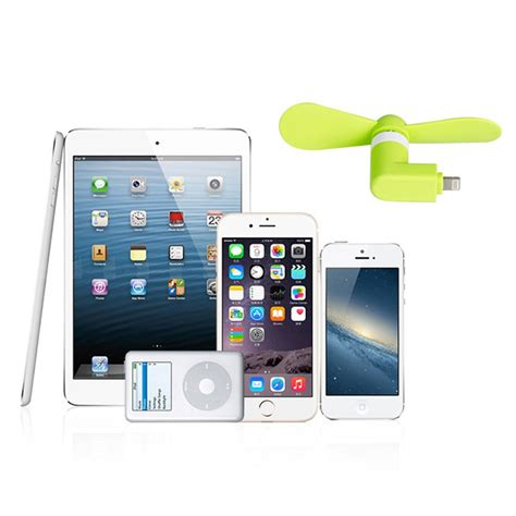 portable usb mini electric fan cooling cooler for apple