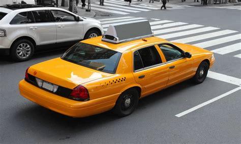 taxis cab garden yellow cab