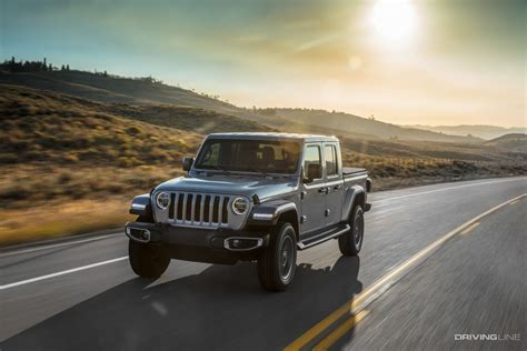 2020 Jeep Jl Rumors by 2020 Jeep Gladiator Unveiled Drivingline