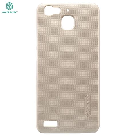 Hp Huawei Enjoy 5s husa huawei enjoy 5s gr3 nillkin frosted shield chagne cu folie de protectie inclusa