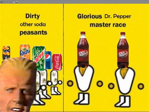 Pc Master Race Meme - dr pepper master race the glorious pc gaming master race