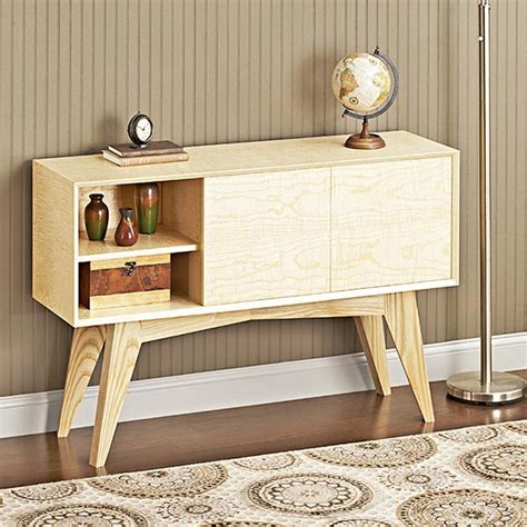 mid century modern furniture plans mid century modern credenza woodworking plan from wood