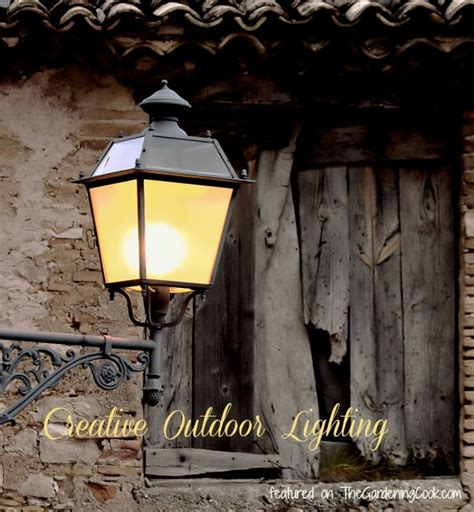 creative outdoor lighting ideas creative outdoor lighting ideas the gardening cook
