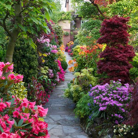 beautiful flower garden drelis gardens four seasons garden the most beautiful
