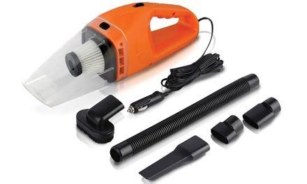 Aiueo Vacuum Cleaner Portable portable 120w car vacuum cleaner groupon