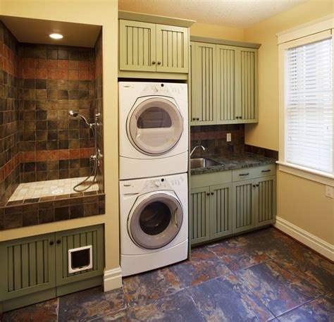sumptuous litter box enclosure  laundry room craftsman