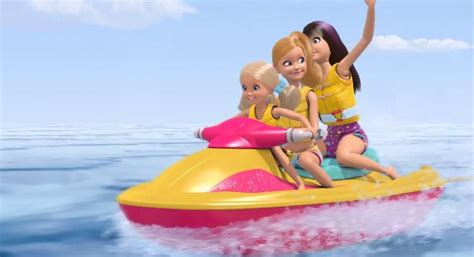 barbie boat pictures water motor ski barbie life in the dreamhouse 32827051 847