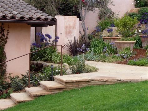 landscaping for privacy in santa barbara walls and