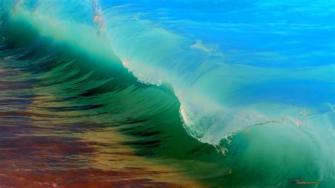 colorful wave wallpaper colorful sea wave wallpapers and images wallpapers