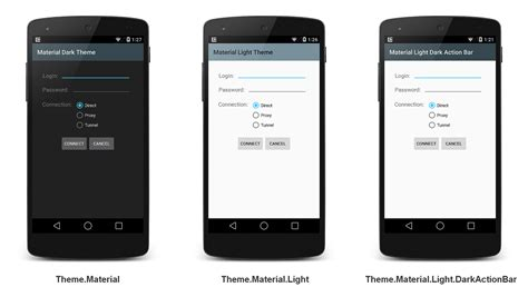 android theme apps lollipop features xamarin
