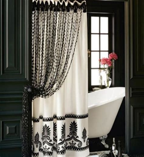 bathroom ideas with shower curtains bathroom decor ideas luxurious shower curtains rotator rod