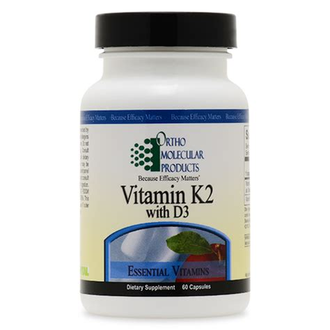 supplement k2 vitamin k2 with d3 60 capsules vitamins minerals