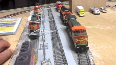 Modern Design Ho Bnsf Quot Arlington Sub Quot Modern Ho Scale Layout Overview Youtube