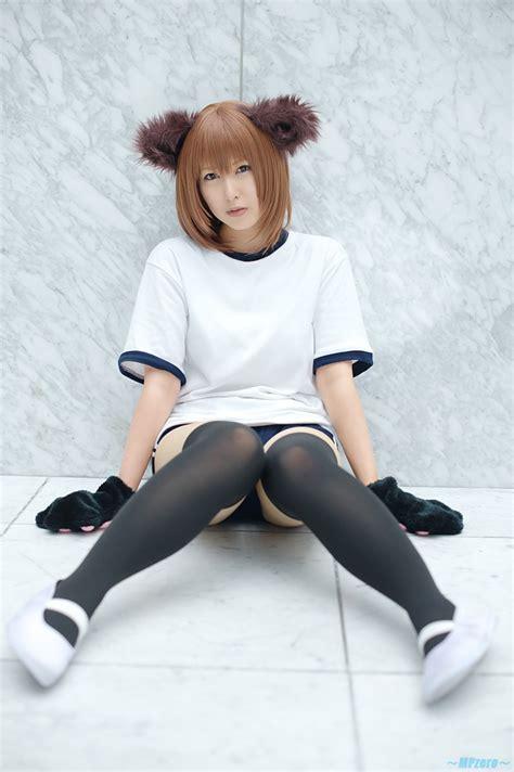 fetscom cosplay in pantyhose uniforms nylon animal ears buruma cosplay dog ears gym uniform narihara
