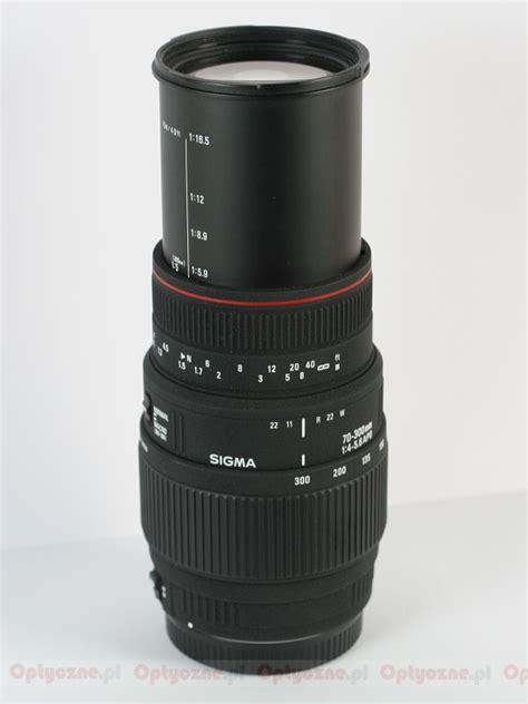 Sigma 70 300 Apo Dg Sigma 70 300 Mm F 4 5 6 Apo Dg Macro Optyczne Pl