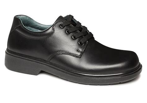 black leather school shoes clarks daytona senior black leather school shoes brand