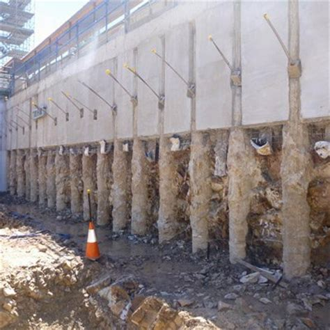 contiguous pile walls | south east queensland | east coast