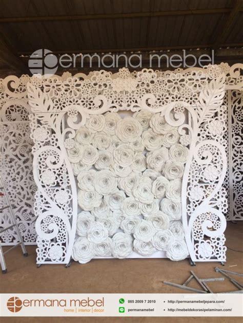 Quality Kemben Busa Bunga 5020 photo booth pernikahan bunga karet jual properti pelaminan