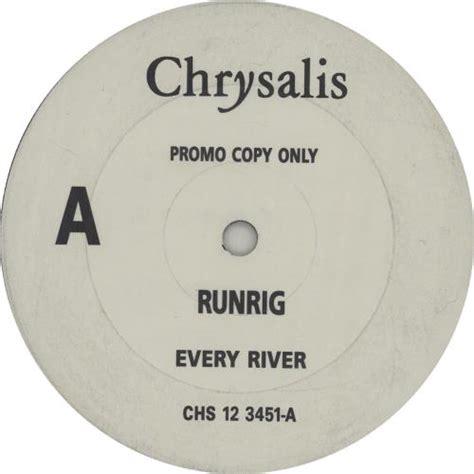 Every Time I Die Vinyl Uk - runrig every river uk promo 12 quot vinyl single 12 inch