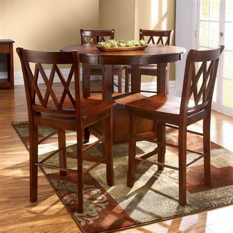 high table and chair set high top table sets homesfeed