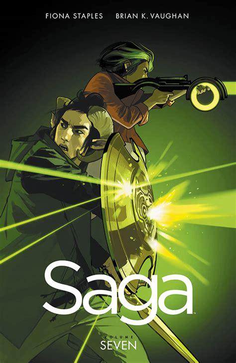 saga 07 saga 8865438762 on the shelf imagecomics set to release volume 7 of saga the war for phang this march