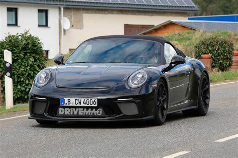 Porsche 911 Limited Edition by We The Limited Edition 2019 Porsche 911 Speedster