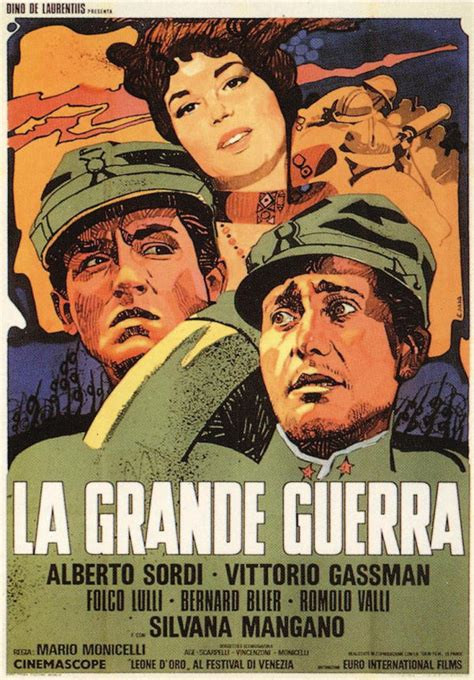 film gierra la grande guerra film 1959