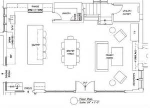 ideas about kitchen floor plans pinterest open house plan allows for maximum light space image source